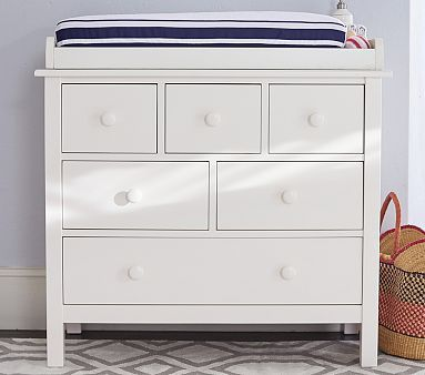 Kendall Nursery Dresser Topper Set Bebek Dekorasyon