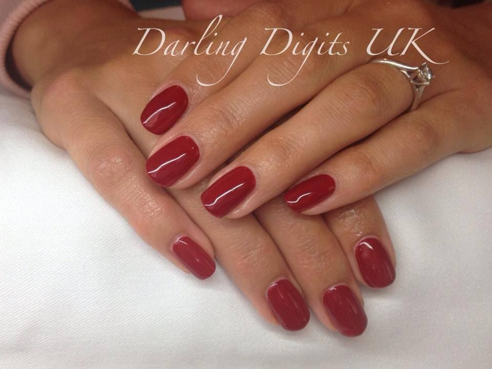 Scarlet Letter Cnd shellac nails, Shellac colors, Nails