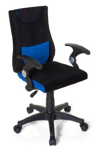 Kinderschreibtischstuhl  hjh OFFICE 670470 Kinderschreibtischstuhl KIDDY PRO AL blau   Kemo ...