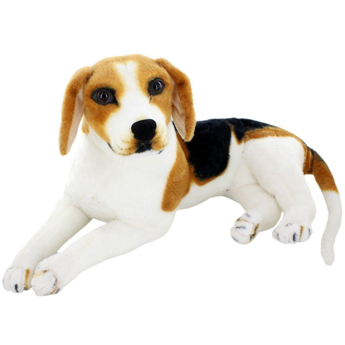 Amazon Com Jesonn Giant Realistic Stuffed Animals Beagle Dog