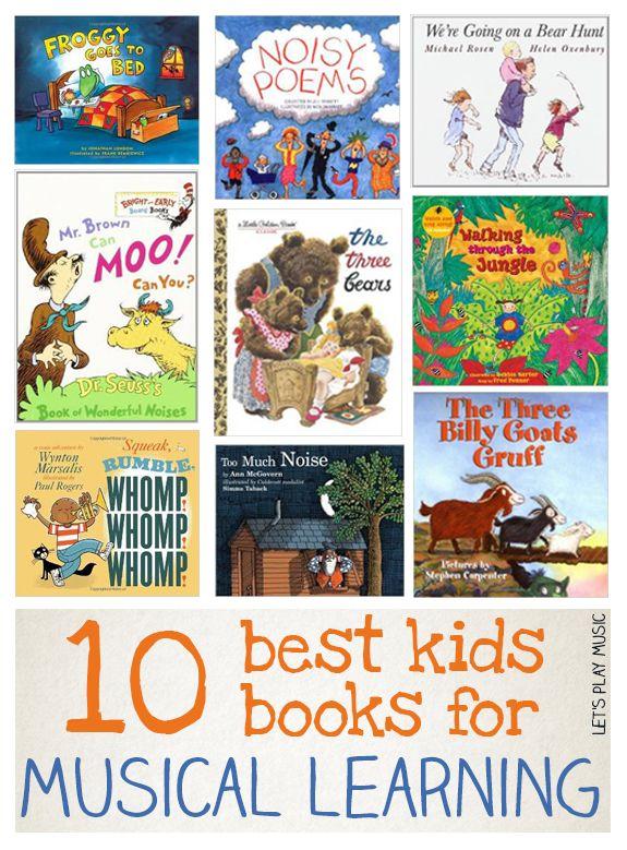 Best Books For Musical Learning Let S Play Music Kindergarten Music Preschool Music Elementary Music
