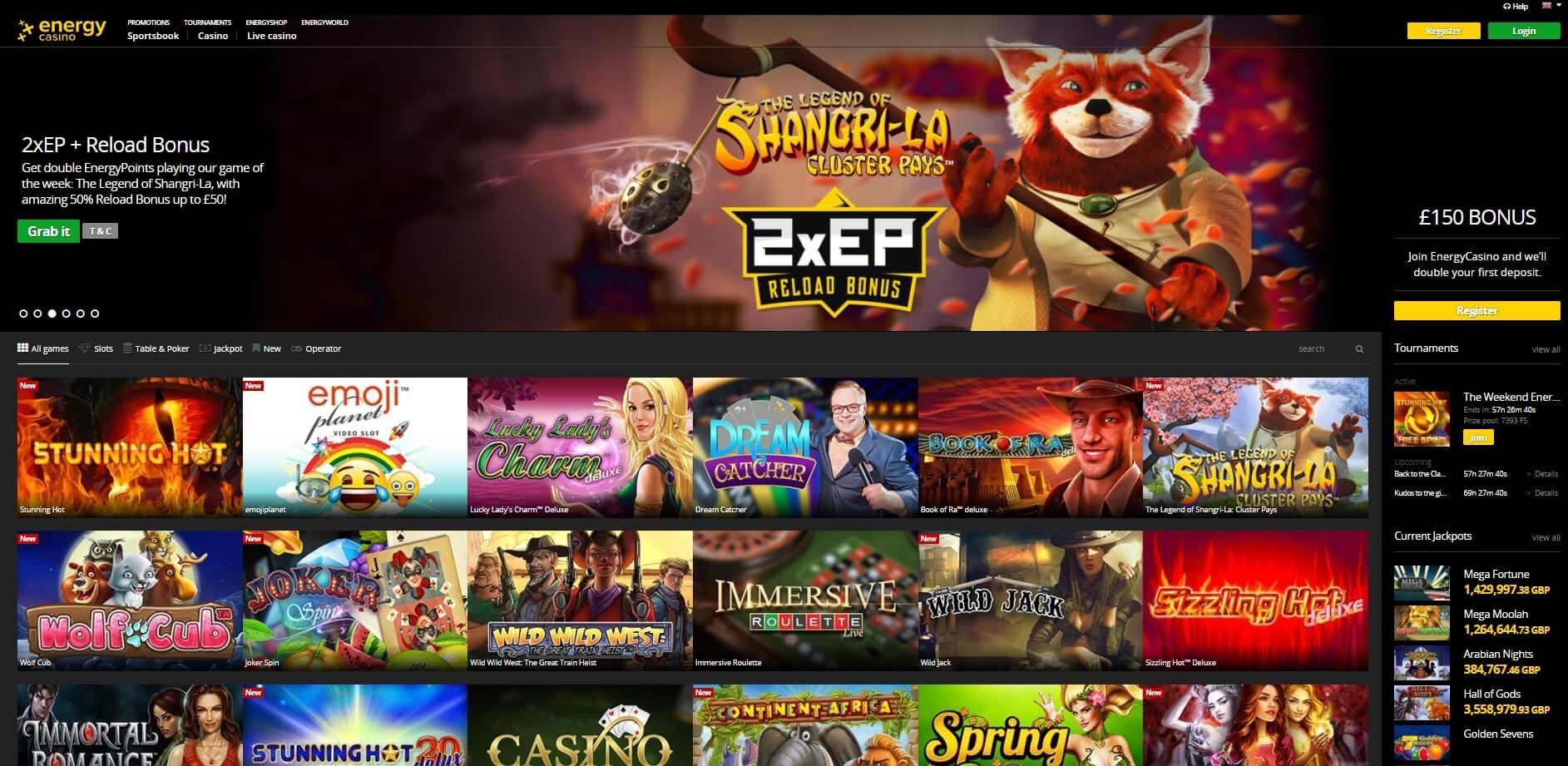 Sportwetten, Casino und Poker Spiele online