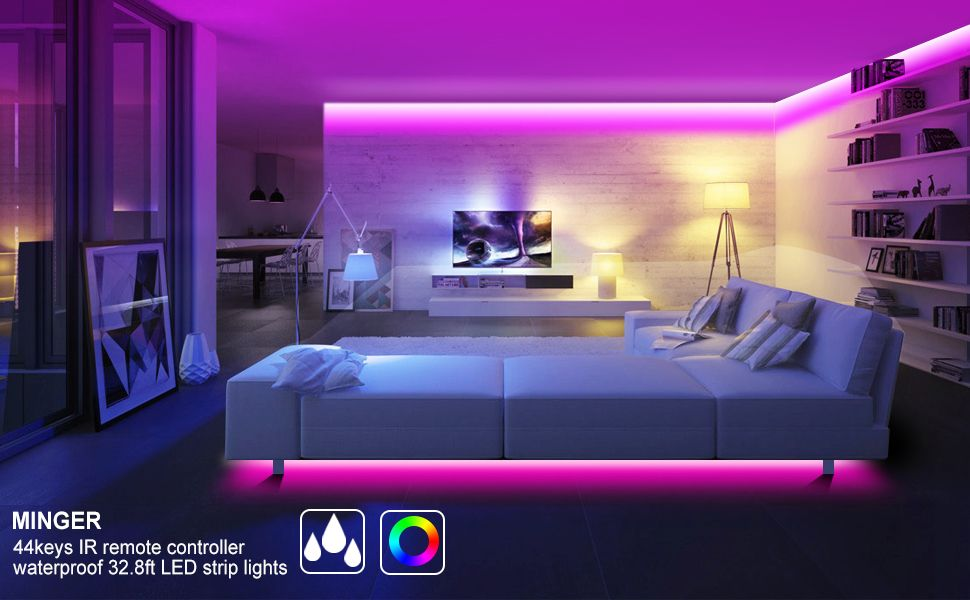 Led Strip Lights Bedroom Homedecor Livingroom Bathroom Livingroom Led Strip Lights Bedroom Led Strip Lighting Strip Lighting