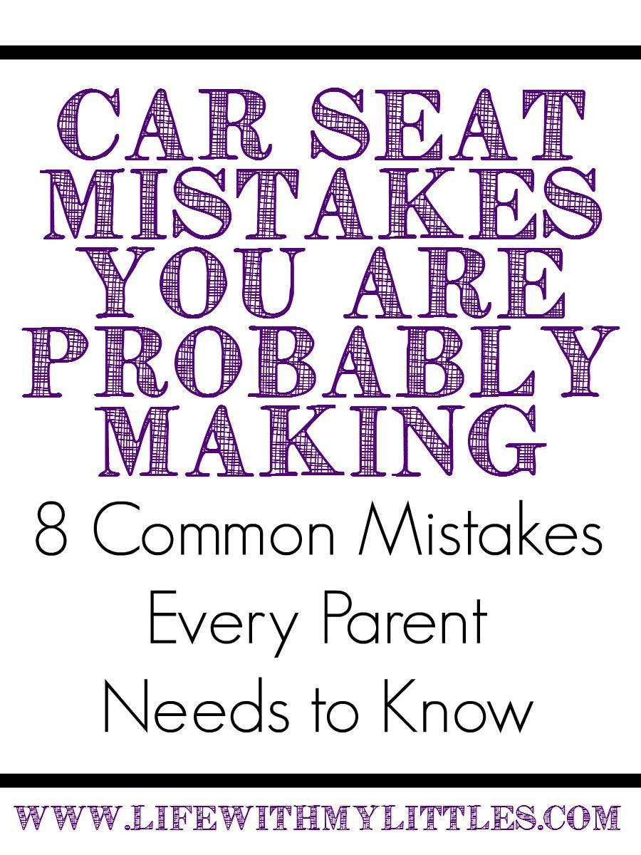 Toddler In Car Seat Making Face