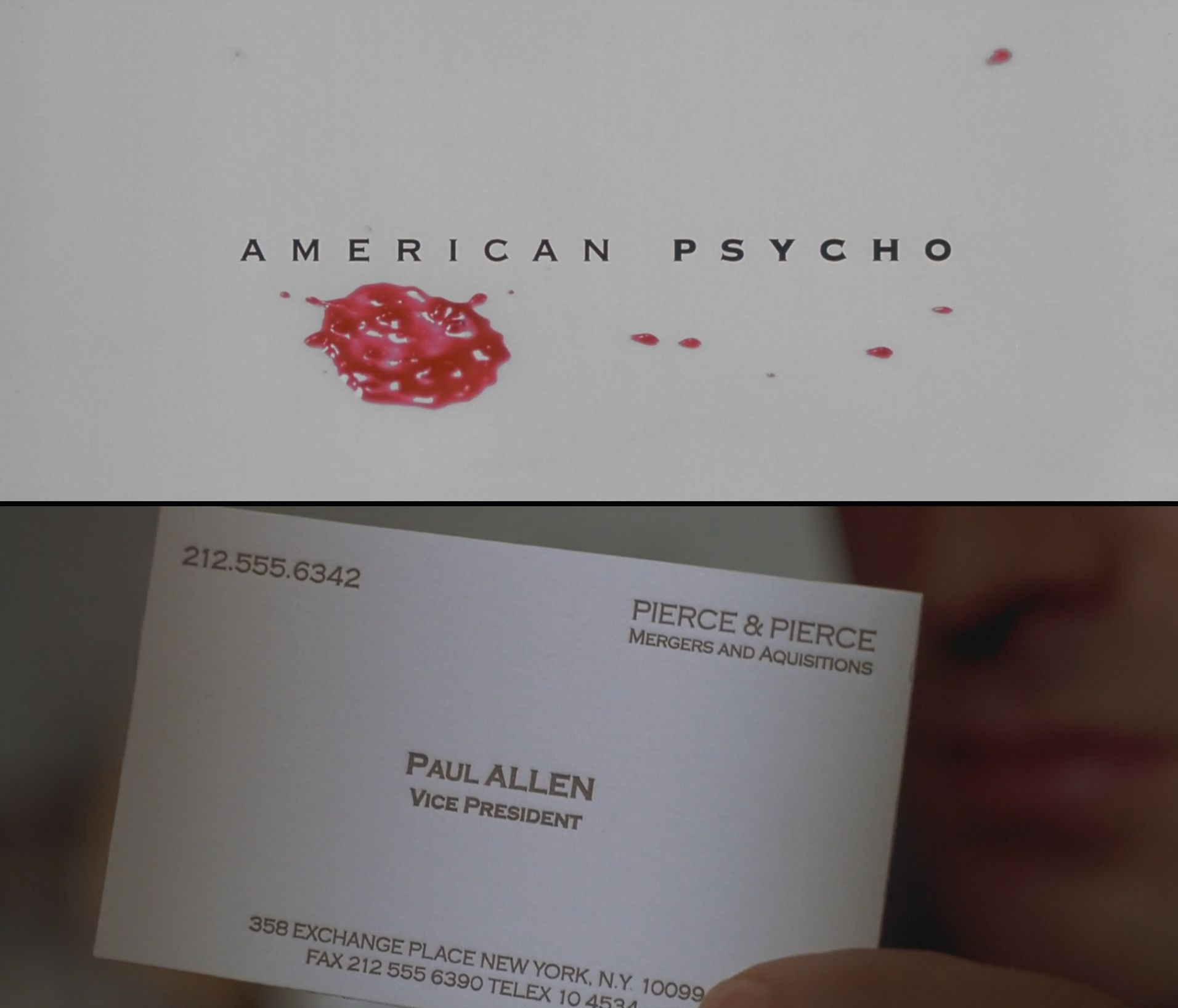 American Psycho Quotes Business Card Cards Pozycjoner Inside Paul Allen Business Card Template Business Card Template American Psycho Quotes Card Template