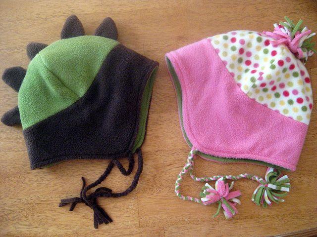 Fleece Hats | Fleece hats, Patterns and Free