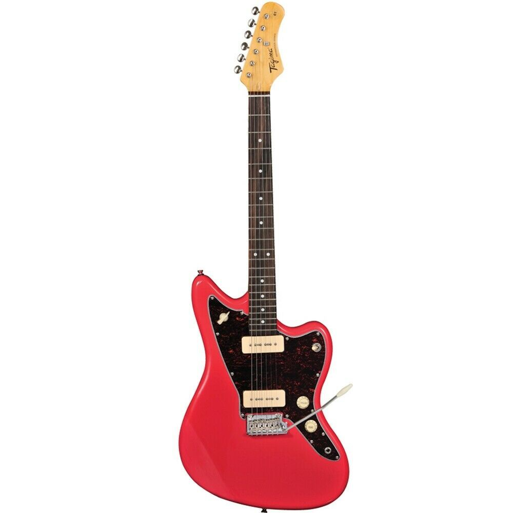 Tagima Tw 61 Woodstock Series Jazzmaster Style Electric Guitar Fiesta Red Price 265 00 Guitars For Electric Guitar For Sale Guitar Electric Guitar