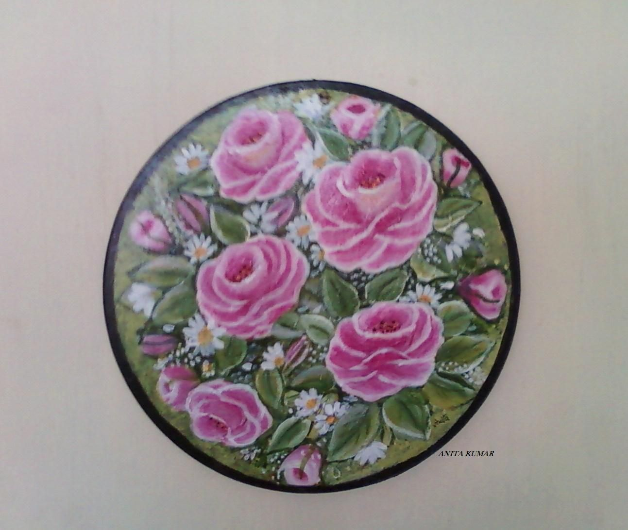 Decorative Painting Roses