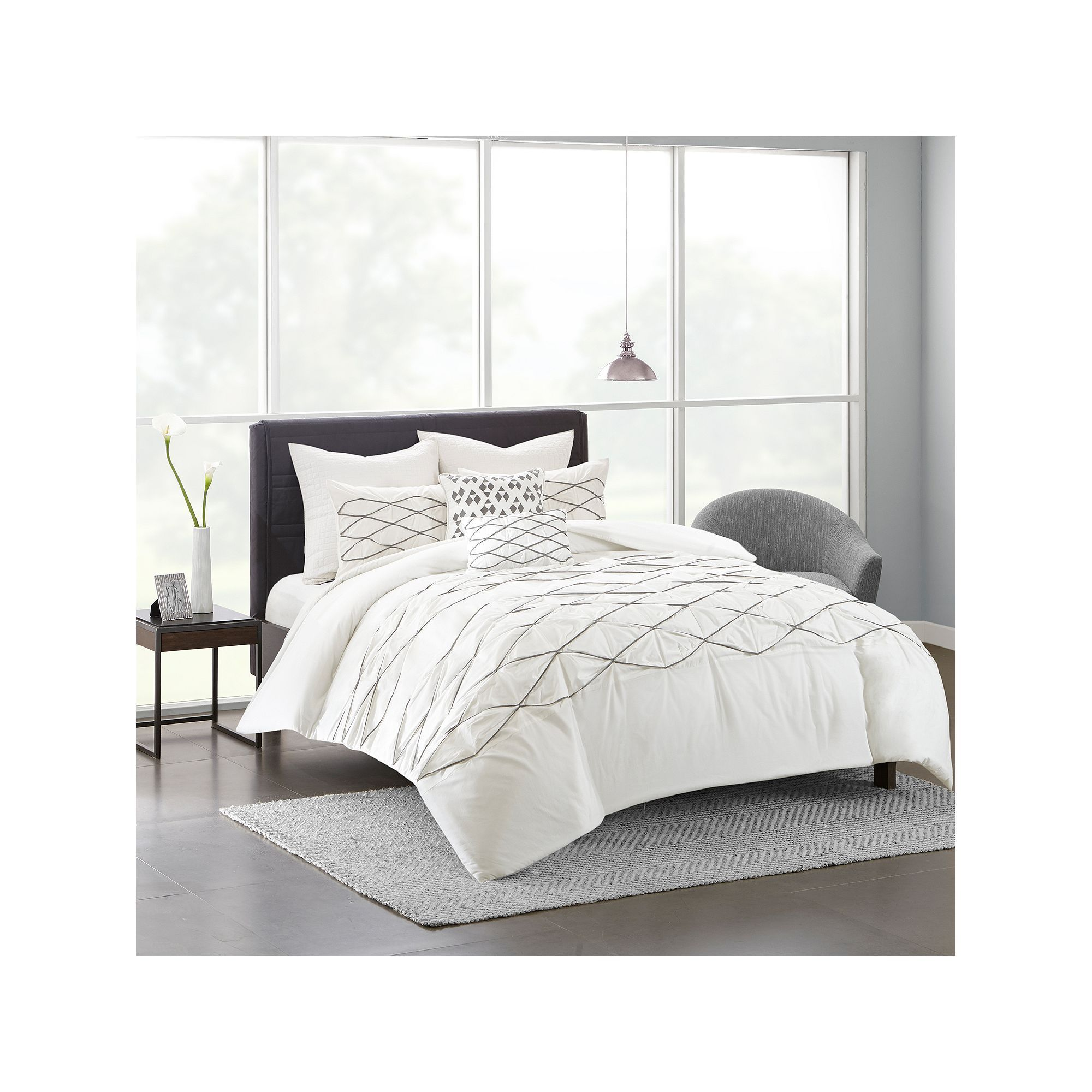 surya king piece by cover cfm duvet evelyn white master product hayneedle set