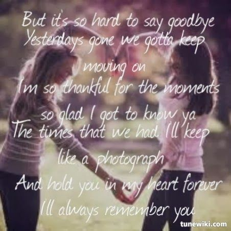 I Ll Always Remember You Miley Cyrus Best Song Lyrics Always Remember You Hard To Say Goodbye