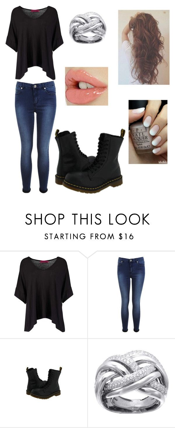 """""""Femme Darry"""" by forever-young114 ❤ liked on Polyvore featuring Boohoo, Miss Selfridge, Dr. Martens, women's clothing, women, female, woman, misses and juniors"""
