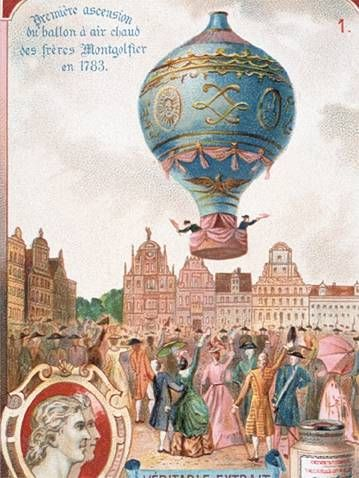 joseph and jacques montgolfier hot air balloon