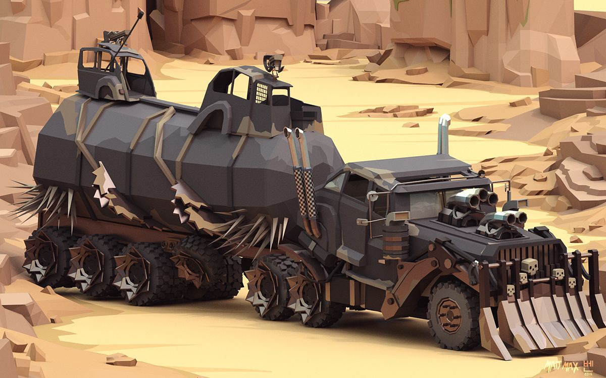 Mad Max Cars on Behance Car max, Mad max, Zombie