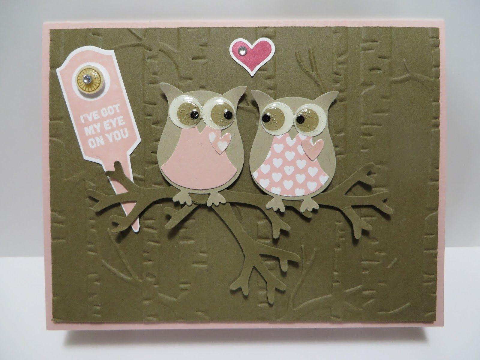 Lynns locker stampin up stake your claim love blossom owls craft jeuxipadfo Images