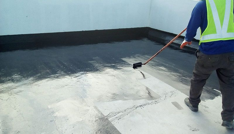 عزل الخزان بالبيتومين اكتشف مزايا وخطوات عزل خزانات مياه الشرب الخرسانية الأرضية In 2021 Waterproof Service Home Additions