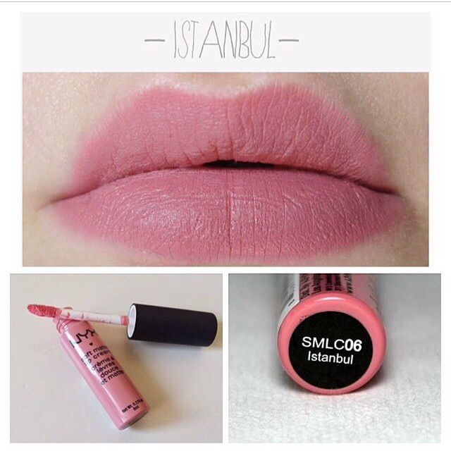 Nyx Soft Matte Lip Cream In Istanbul I Like This One Too Nyx