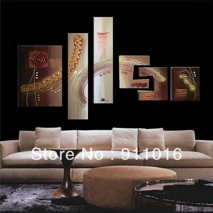 Free Shipping 100%Handmade Textured Modern Oil Painting On Canvas ...