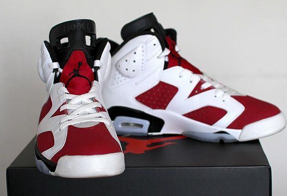 salomon t3 - Jordan retro 6 'Carmine | Kixify.com | Them J'S Though | Pinterest ...