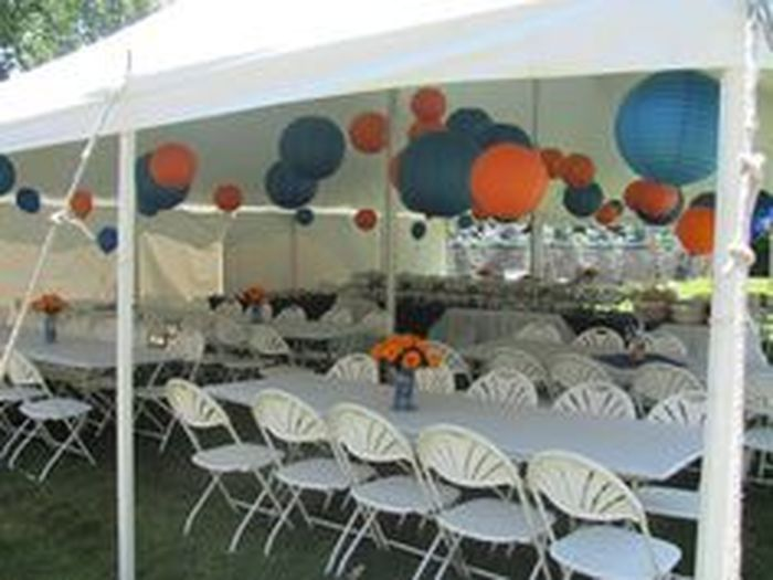 15 Graduation Party Tent Decorating Ideas Canopy Party Decorating