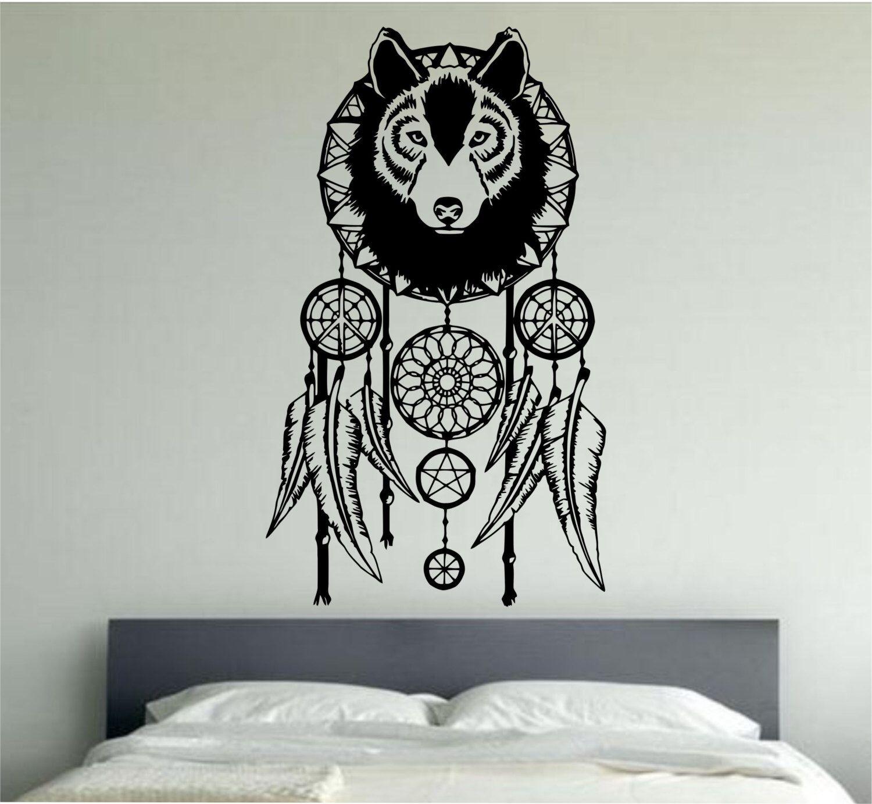 Dream catcher wall decal version sticker vinyl art decor bedroom
