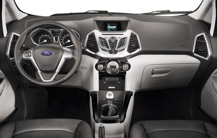 New Ford Ecosport Interior With Images Ford Ecosport Suv