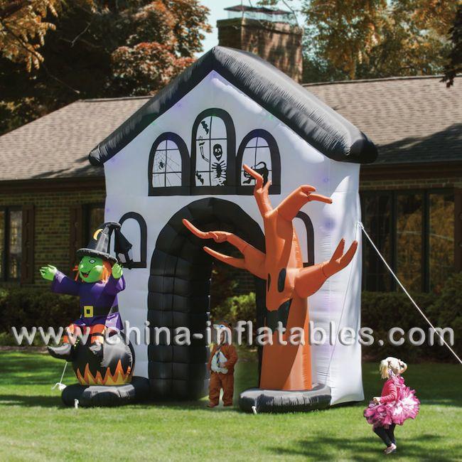 Inflatablehalloweendecoration #Halloweeninflatables Inflatable - outdoor inflatable halloween decorations
