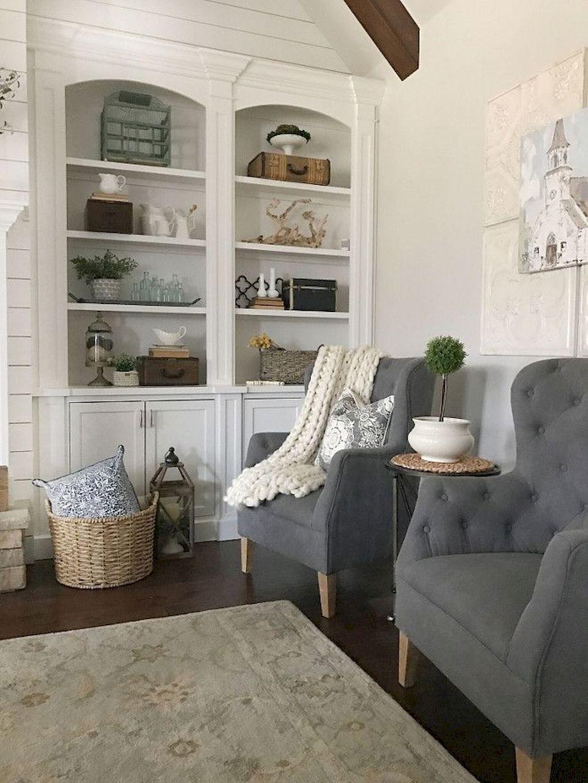 60 Modern Farmhouse Living Room Decor Ideas Living Room D