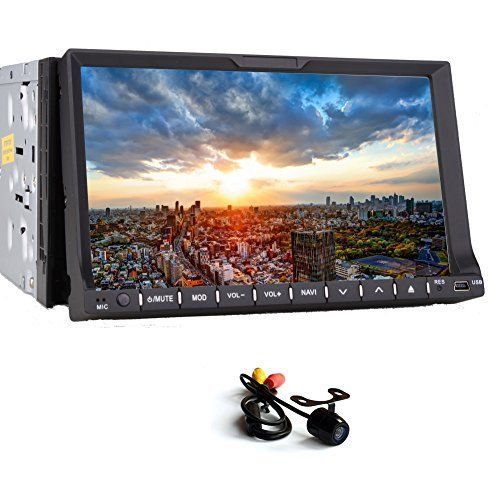 EGood New 7 inch TOUCH Car stereo Double DIN car CD DVD