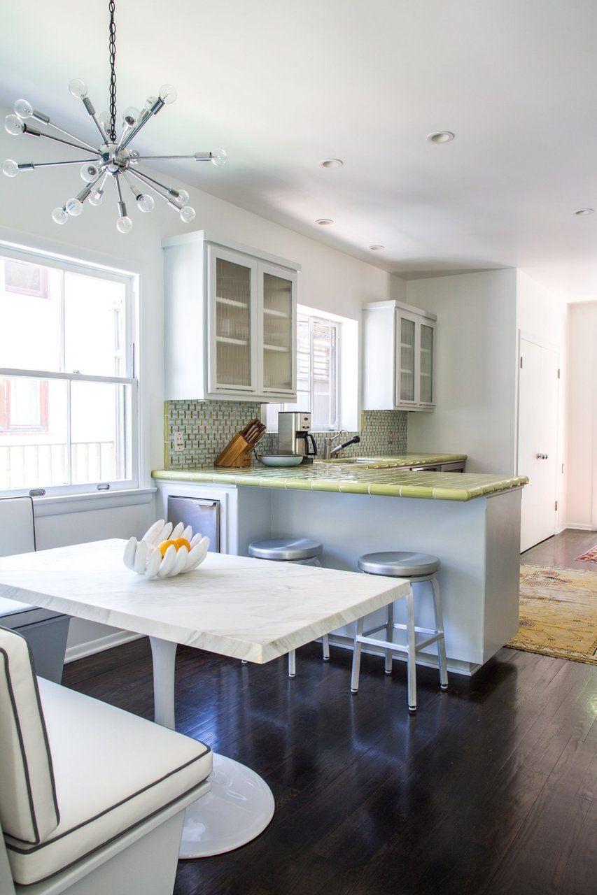 Cool Calm And Functional Kitchen: Lori And John's Functional Modern Home