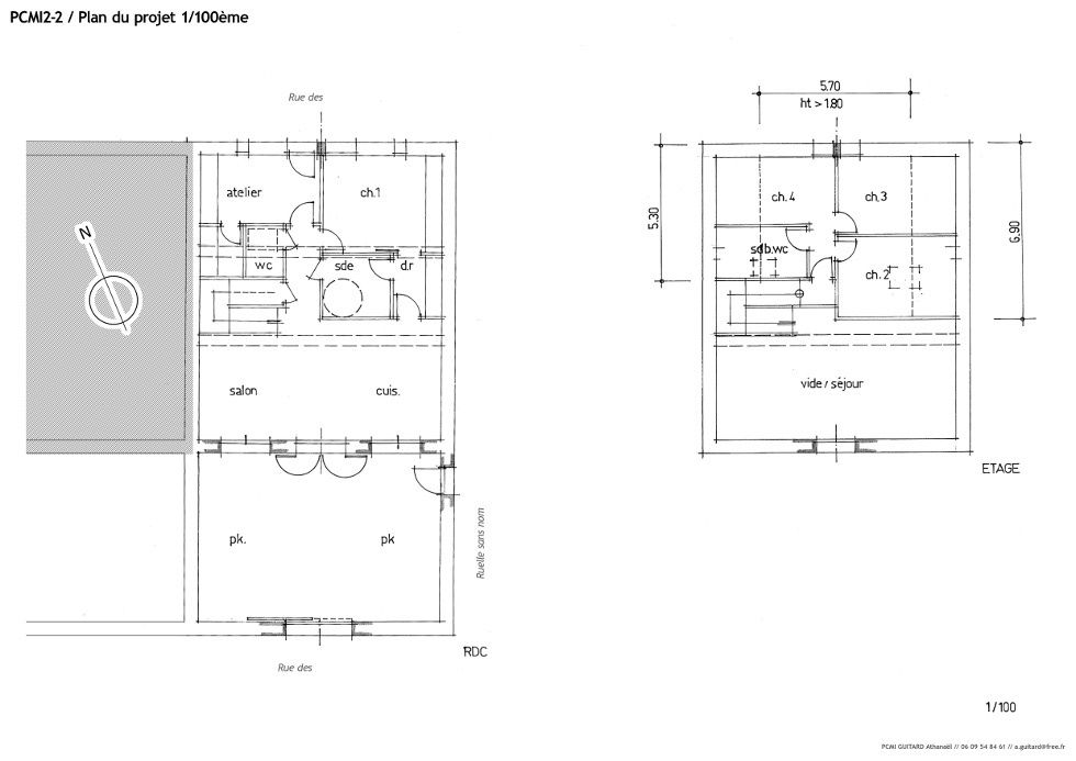 66 La Grange-Loft  le récit de la construction - Pyrenees - exemple de plan de construction de maison gratuit