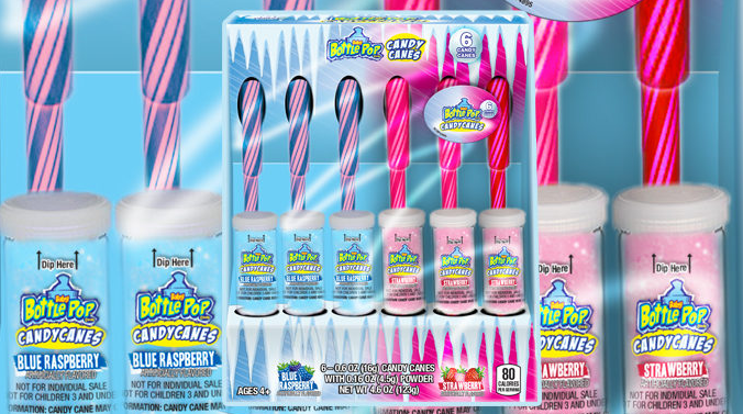 Bazooka Launches New Juicy Drop Candy Canes Welcomes Back Baby Bottle Pop Candy Canes Bazooka Launches New Juicy Drop Candy Canes Welcomes Back Baby Bottle Pop Candy Cane...