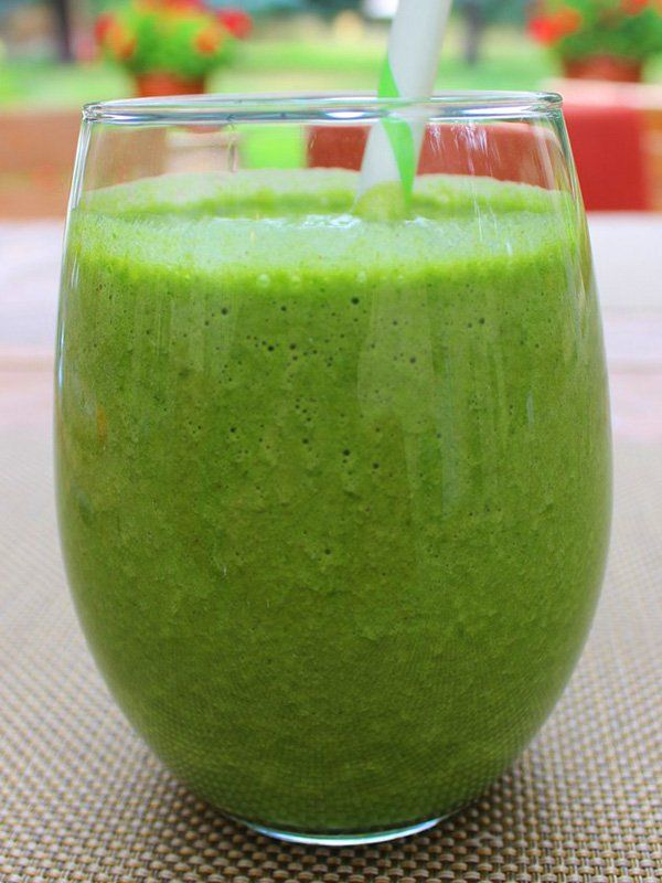 Photo of Centrifuged courgettes with apples and ginger