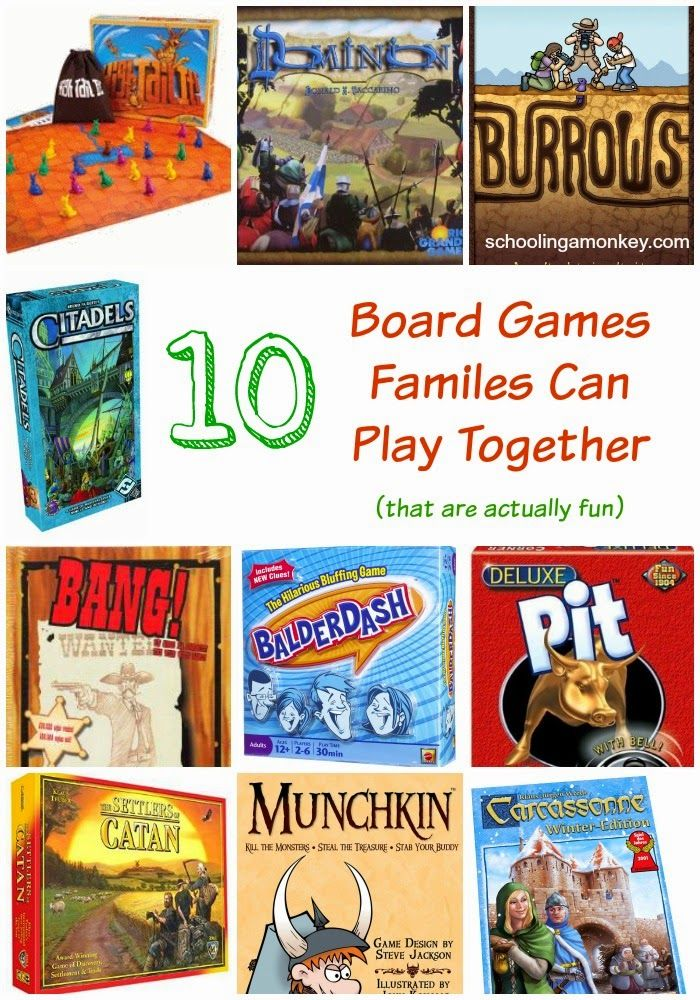 Board Games For Families Schooling A Monkey Gift Ideas