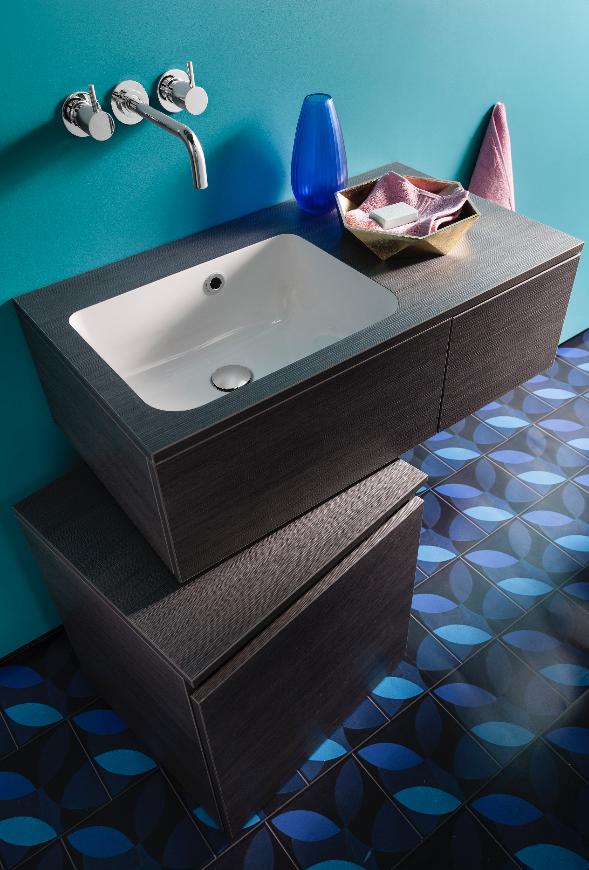 Elegant Contemporary Bathroom Furniture Pier Basin Unit From Bauhaus