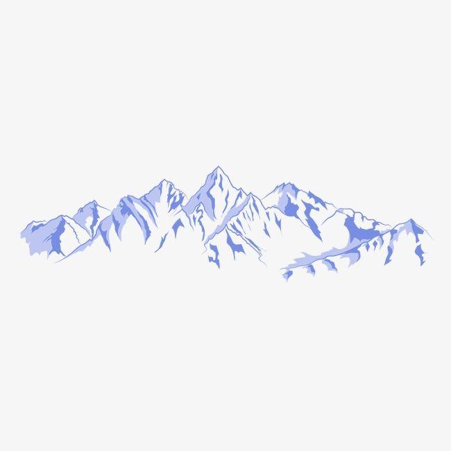 Mountain Mountain Illustration Mountain Drawing Art
