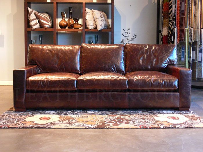 Marvelous Braxton Leather Furniture Collection In Brompton Cocoa Ncnpc Chair Design For Home Ncnpcorg