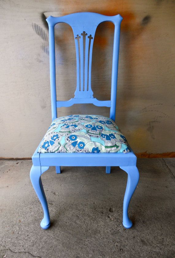 Paint Furniture · Sugar Skull Chair