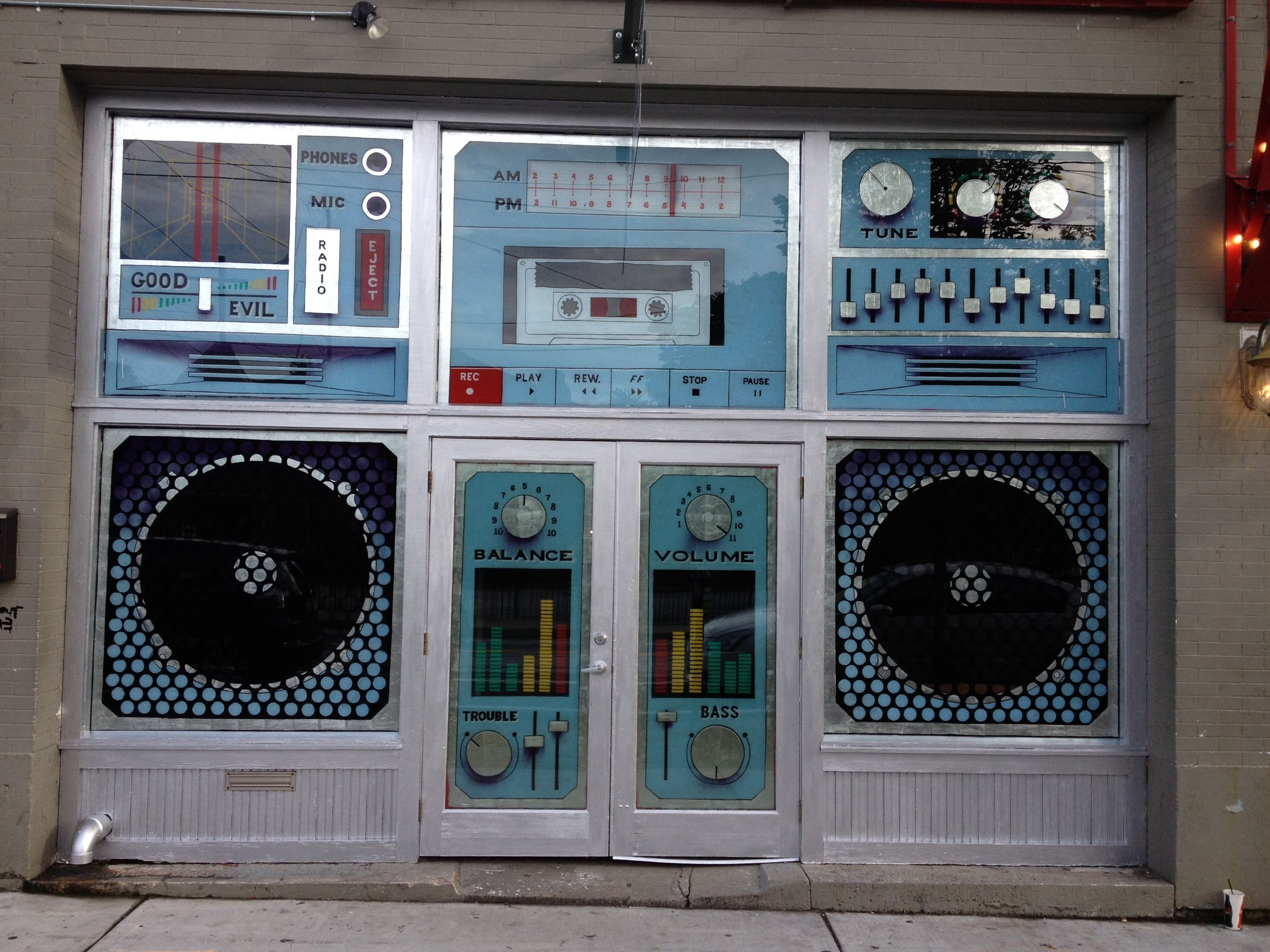 Image result for Music Room Boombox Doors
