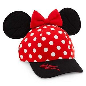 f4e76812baddb Disney Hat - Baseball Cap for Girls - Minnie Mouse Ears in 2019 ...
