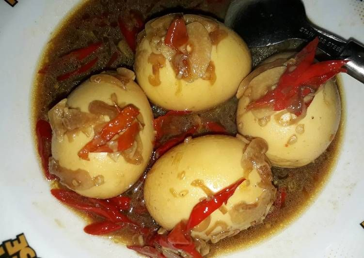 Resep Telur Bulat Kecap Manis Oleh Lisa Marlisa Resep Telur Resep Kecap