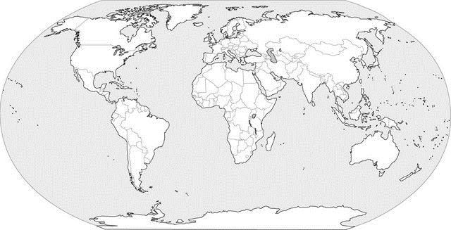 World Geography Worksheet Assignment | World map printable ...