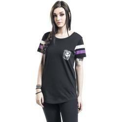 The Nightmare Before Christmas Jack Damen-T-Shirt - schwarz - Offizieller & Lizenzierter Fanartikel