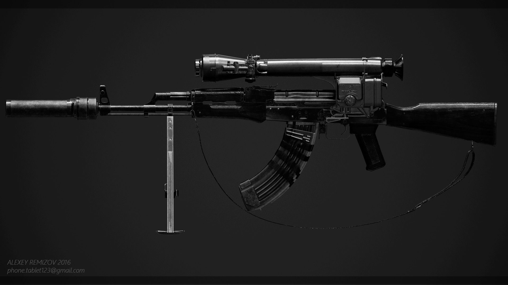Artstation modified akm elysium fan art alexandre normand artstation modified akm elysium fan art alexandre normand eapons knives pinterest weapons knives and tutorials pooptronica Images