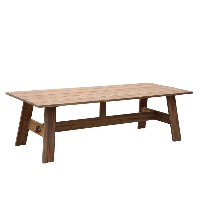 Mimosa 250 X 100 X 75cm Infinity Teak Timber Table