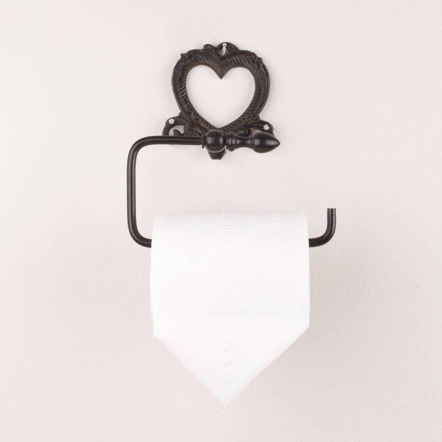 Iron Heart Toilet Roll Holder | Toilet roll holder, Toilet and Iron