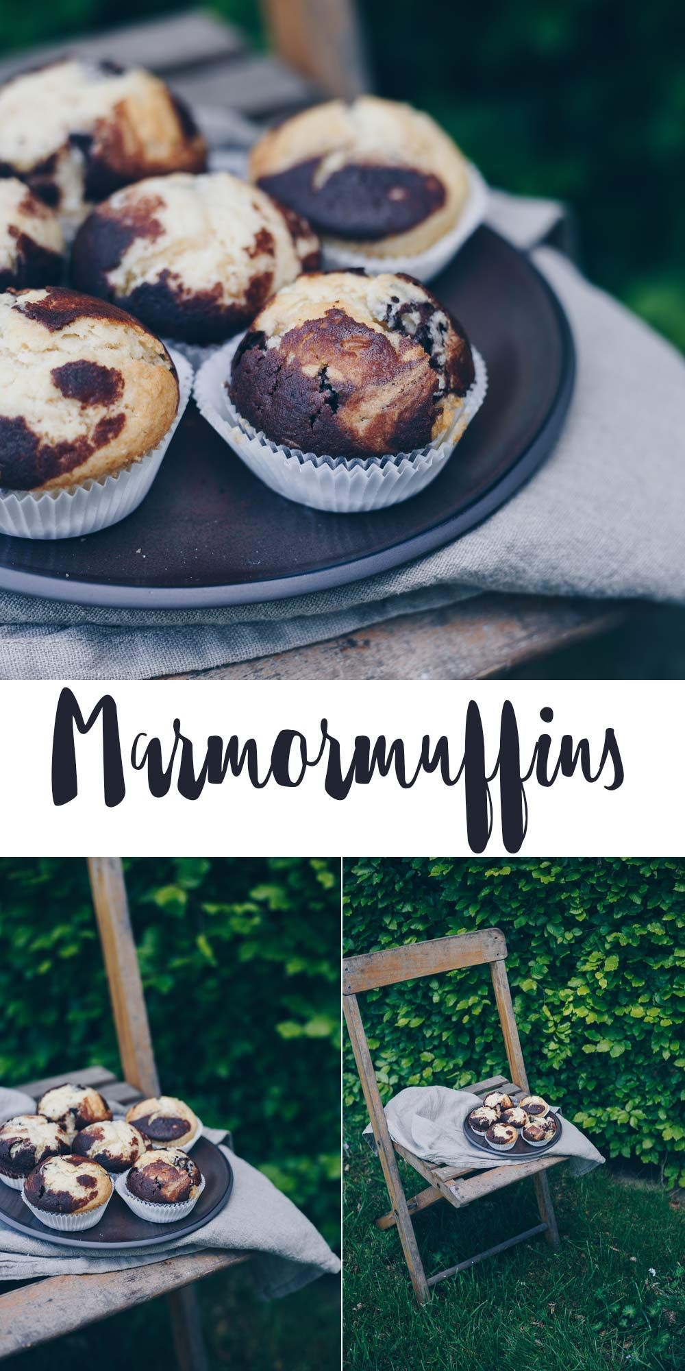 Marmormuffins backen – super einfaches Muffinrezept – schnell backen