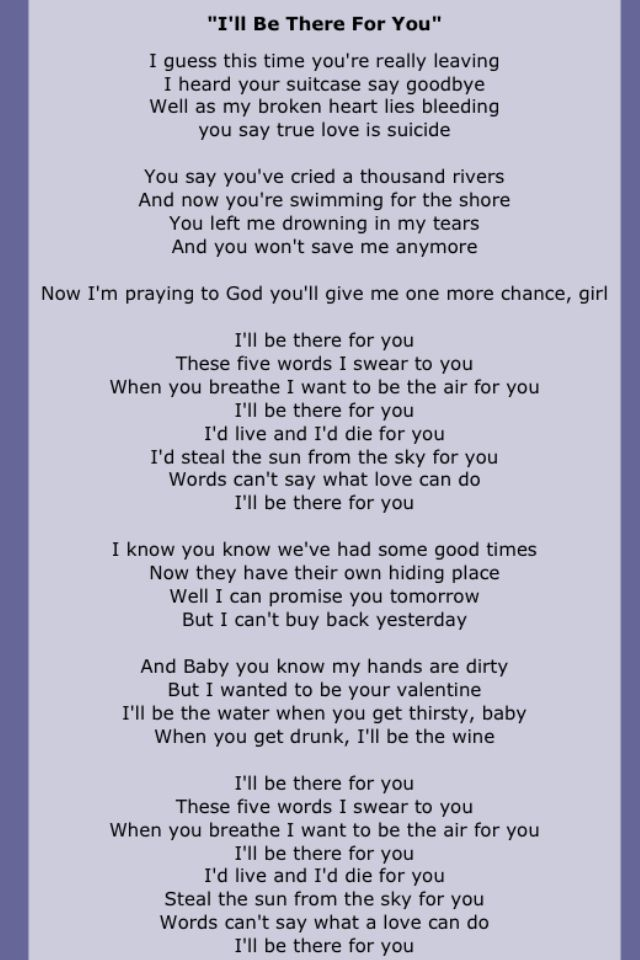 These Are Some Of My Favorite Lyrics From Bon Jovi. | Lovely ...