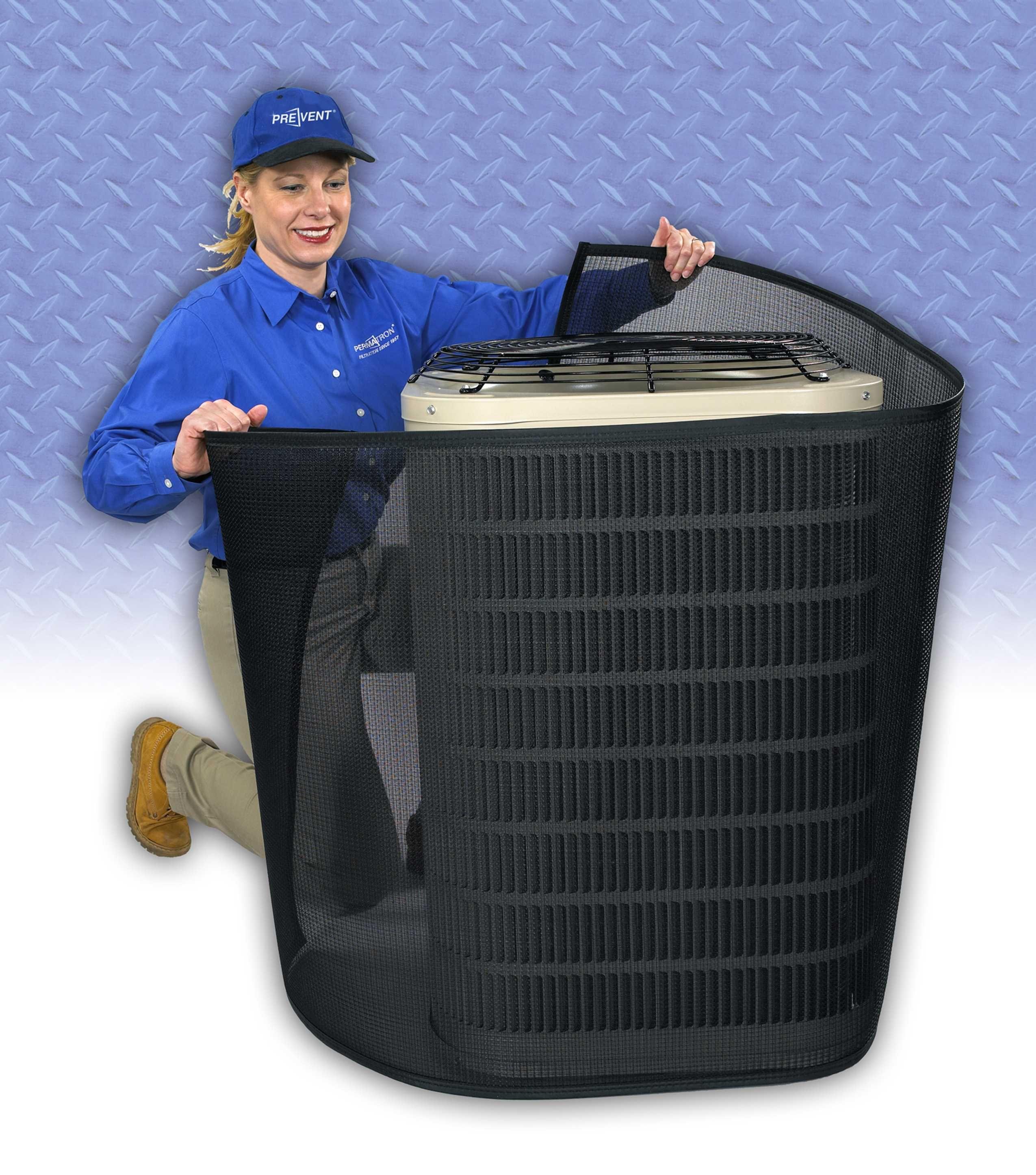 Condenser Coil Filter PreVent Wrap Around Home