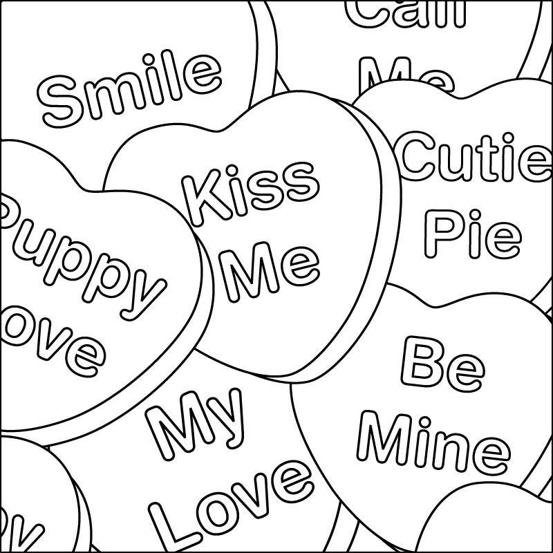 Pin by Joyce Dressler on Color Me... | Valentine coloring ...
