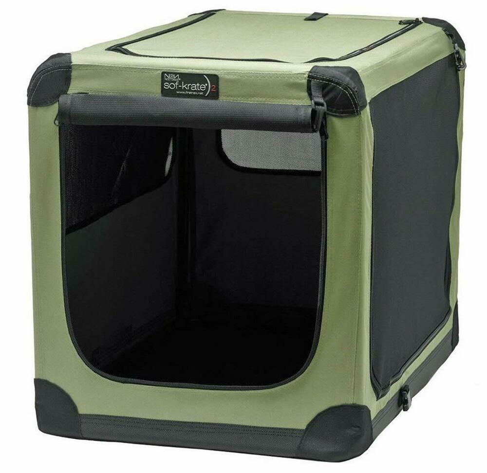 Dog Crate Sof Krate 2 Indoor Outdoor Pet Home Noztonoz 36 Model N2 Noztonoz Portable Dog Crate Soft Dog Crates Pet Kennels